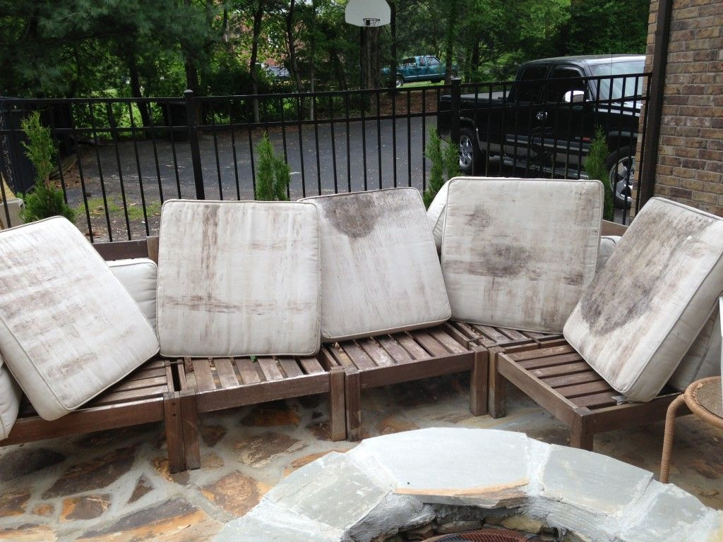 How To Clean Moldy Outdoor Cushions, How To Remove Mold Spots From Outdoor Cushions