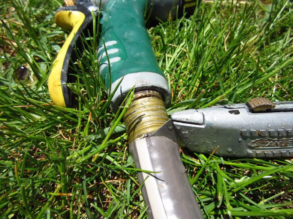 How To Prevent A Hose Nozzle From Getting Stuck Gardenaxis Com